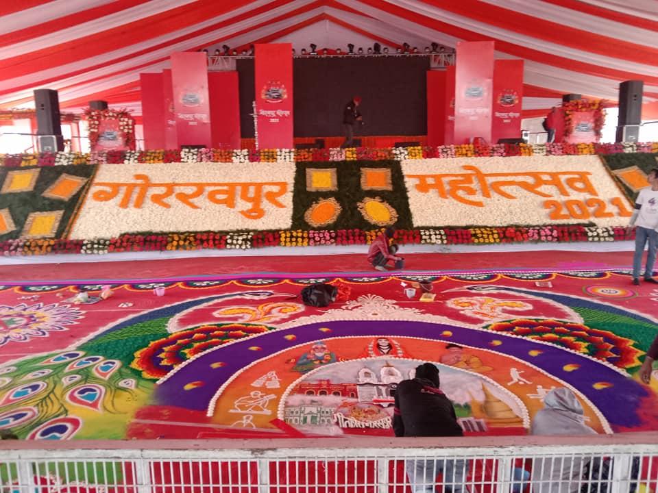 दो दिवसीय गोरखपुर महोत्सव का आगाज,पर्यटन मंत्री नीलकंठ तिवारी ने किया महोत्सव का उद्घाटन