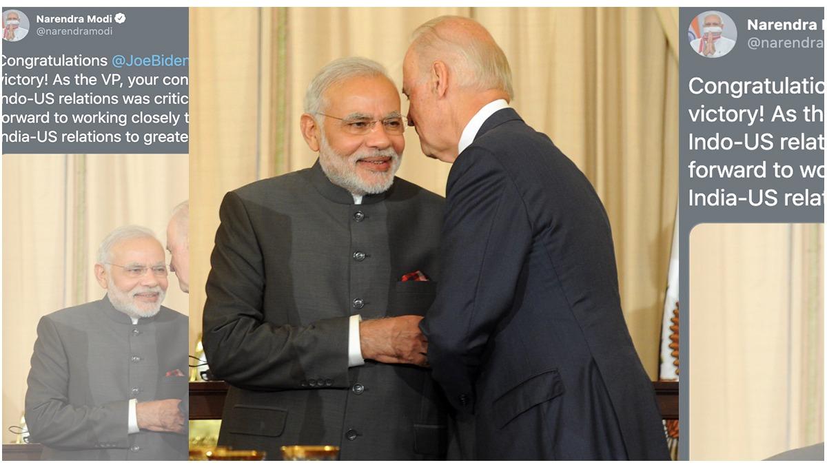जो बाइडेन ने ली राष्ट्रपति पद की शपथ, PM मोदी और राहुल ने दी बधाई