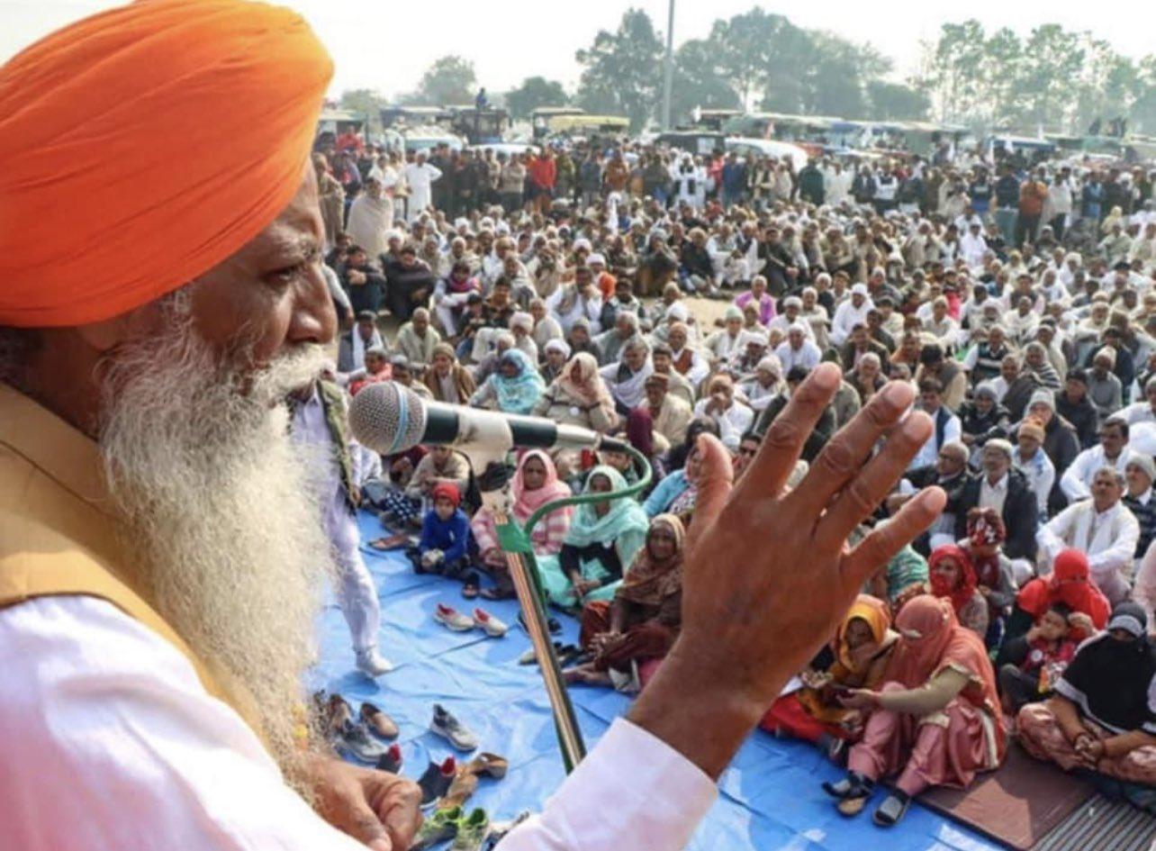 किसान नेता गुरनाम सिंह चढ़ूनी का वीडियो वायरल, हिंसा भड़काने का लगा आरोप