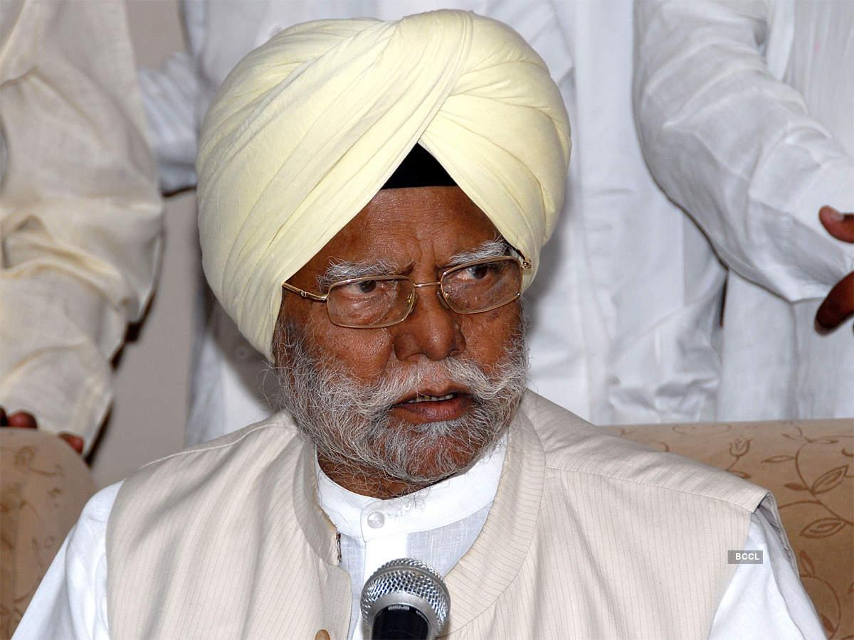 नहीं रहे दलितों के मसीहा: कांग्रेस नेता और पूर्व राज्यपाल बूटा सिंह का 86 की उम्र में निधन