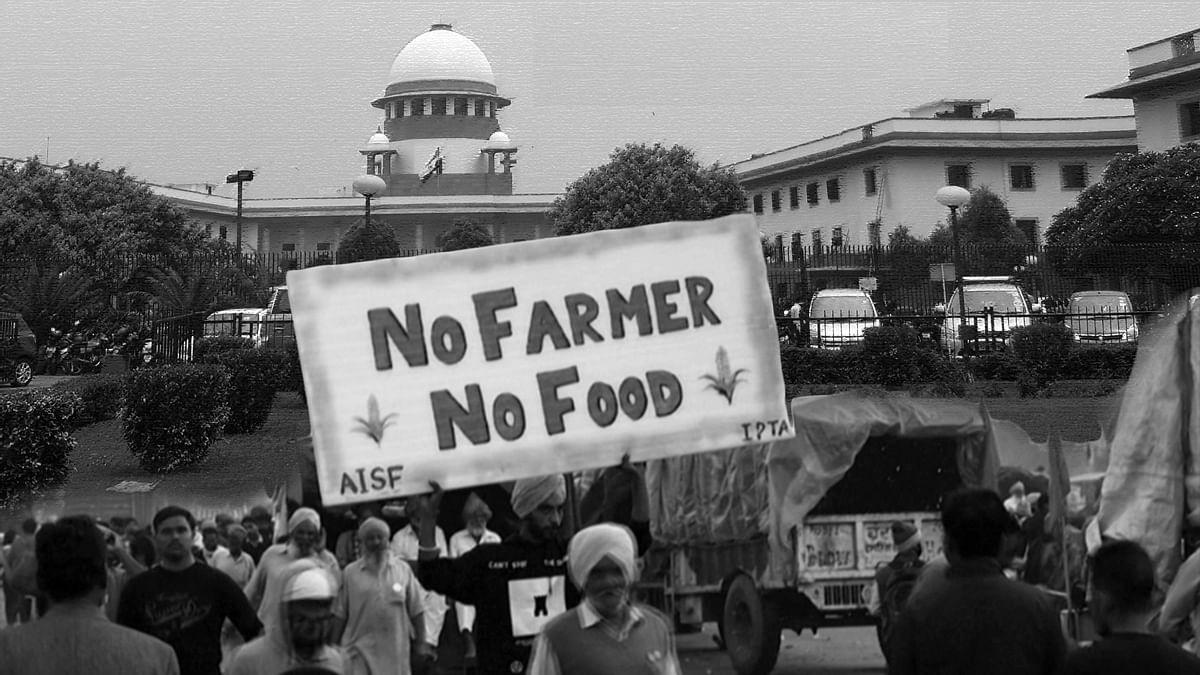 किसान आंदोलन में कोरोना संक्रमण को लेकर SC ने जताई चिंता, सरकार से मांगा जवाब