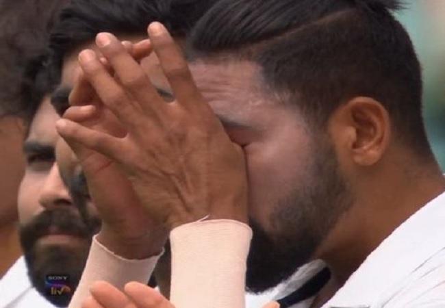 विदेशी धरती पर राष्ट्रगान बजते ही क्रिकेटर मोहम्मद सिराज के छलके आंसू