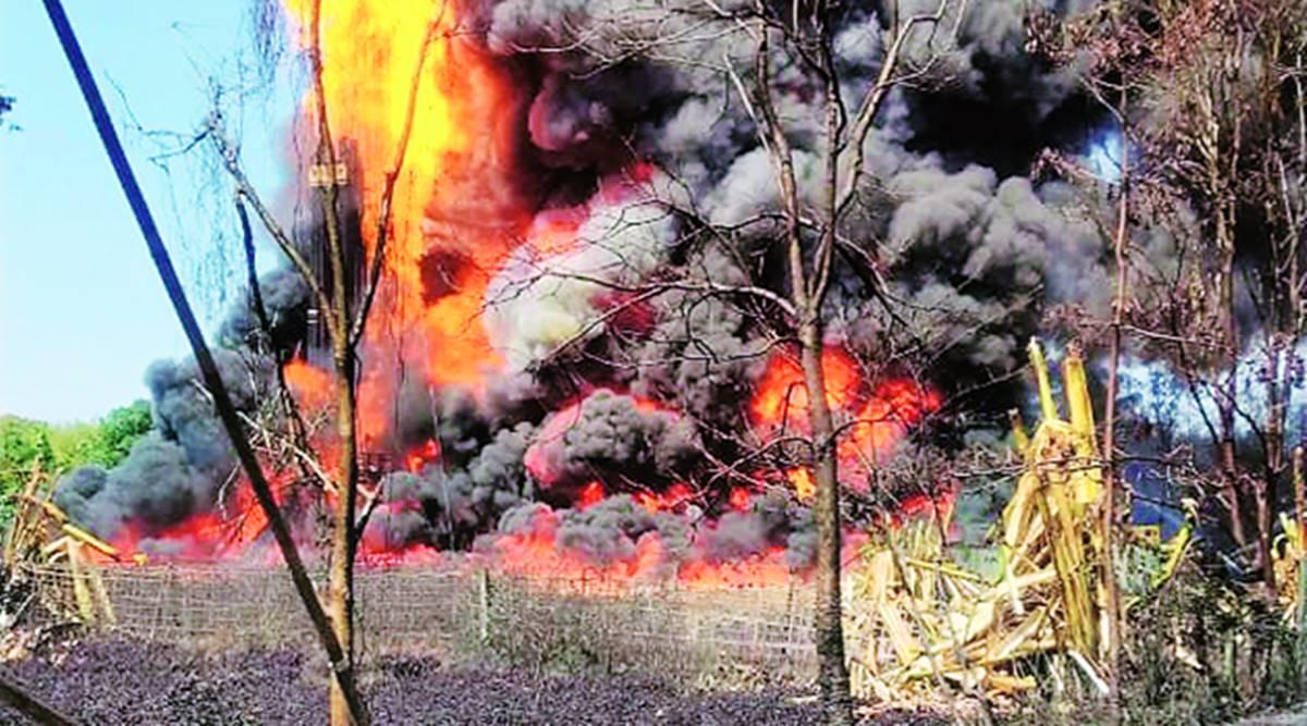 असम के तिनसुकिया में बगजान स्थित ऑयल इंडिया के पास विस्फोट