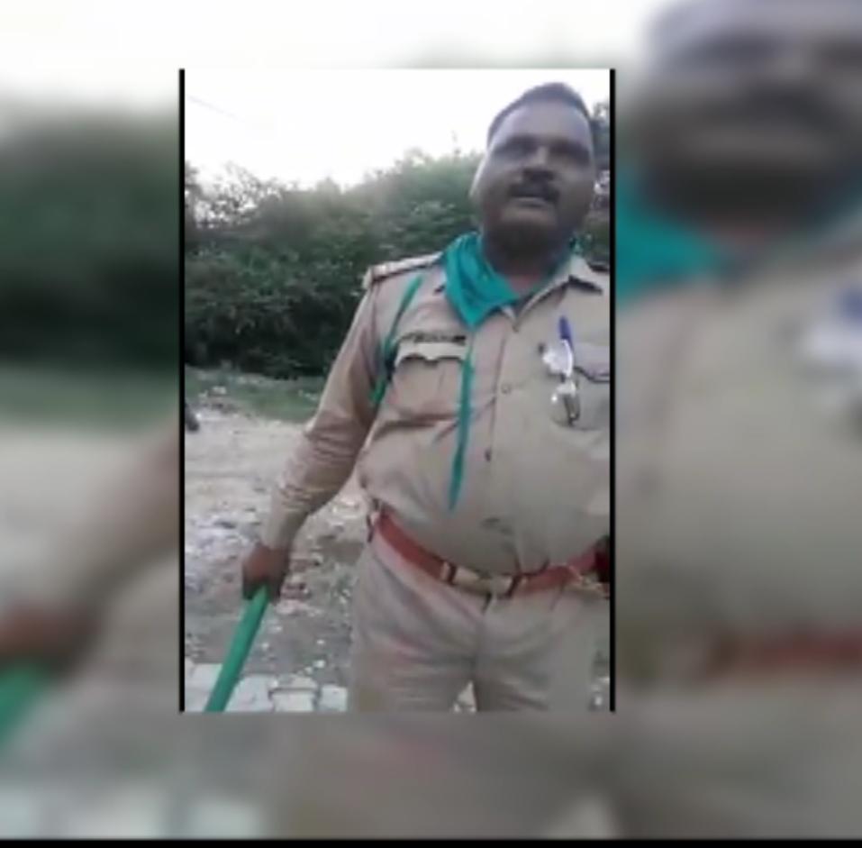 कानपुर की गालीबाज़ पुलिस , एसएसपी बोले जांच के बाद होगी कार्यवाही