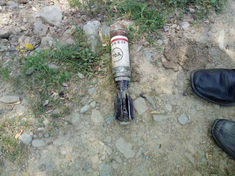 बीडीएस नूरपोरा अवंतीपोरा में यूबीजीएल शेल को नष्ट किया