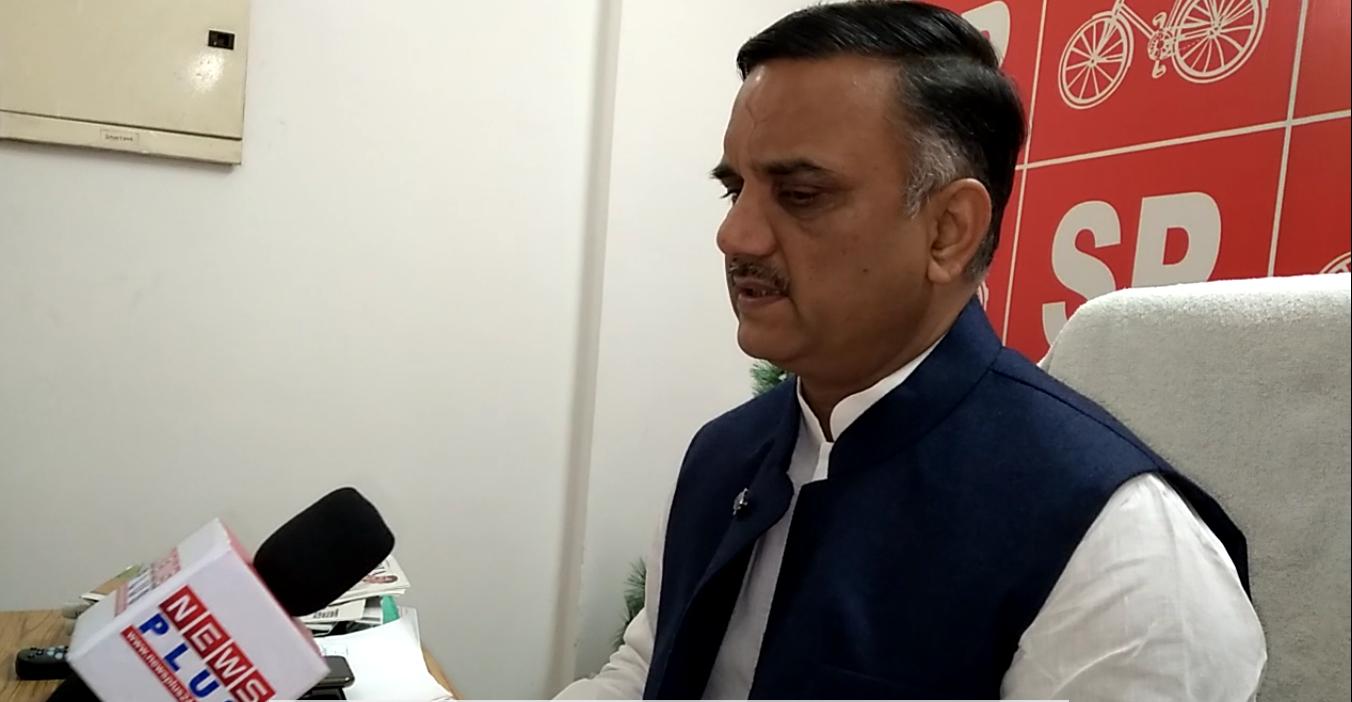 राजभर-ओवैसी की मुलाकात पर सपा नेता बोले