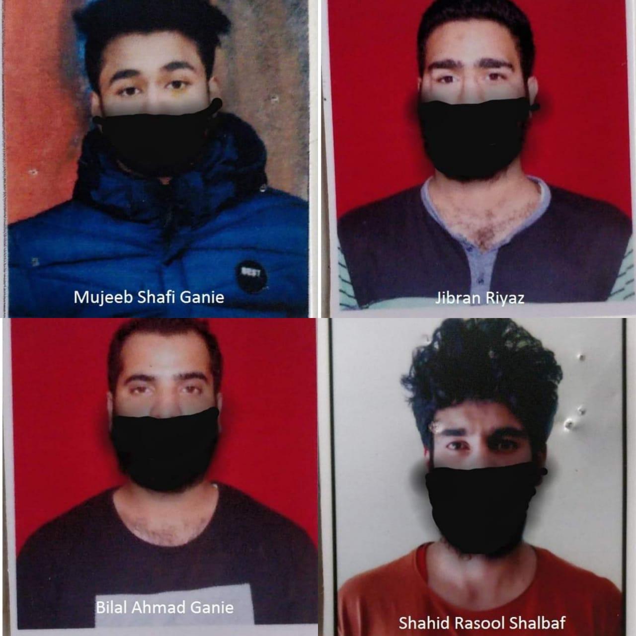 श्रीनगर पुलिस ने पंडाच मिलिटेंट अटैक को सुलझाया, 05 आरोपी गिरफ्तार, 02 एम्बुलेंस और 02 दोपहिया वाहन जब्त