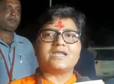 प्रज्ञा सिंह ठाकुर - जिस व्यक्ति ने वीडियो शूट किया, वह