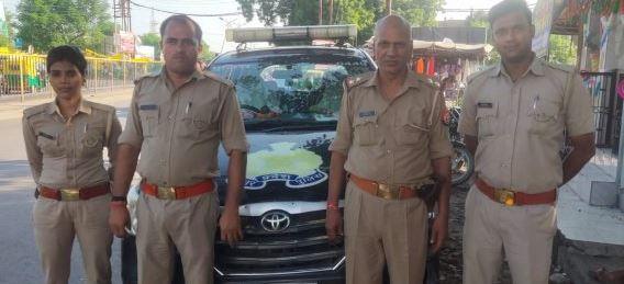 कानपुर- ठीक मौकें पर पहुंच कर पुलिस ने बचाई आत्महत्या करने जा रही महिला की जान
