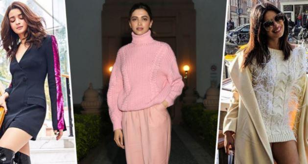 विन्टर्स मे देखिये इन बॉलीवुड हसीनाओं के फैशन स्टेटमेंट