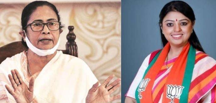 दो बार हार चुकी प्रियंका को बनाया भाजपा ने चुनाव में ममता बनर्जी के खिलाफ प्रत्याशी-आखिर क्यो ?