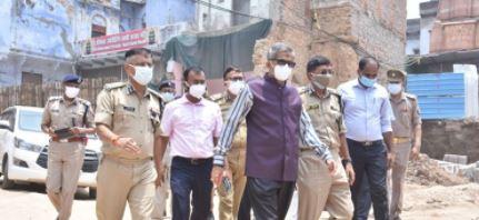 लखनऊ में आतंकवादी गिरफ्तारी के बाद पीएम के दौरे को लेकर सतर्कता अभियान जारी