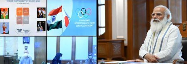 पीएम मोदी आज खिलाड़ियों से करेंगे बात ओलम्पिक गेम्स की तैयारी के बारे में होंगी चर्चा