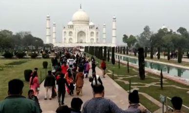 16 जून से पर्यटकों के लिये खुल रहा है ताजमहल