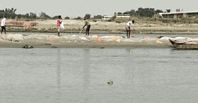 गंगा नदी पर होगा आज से एसडीआरएफ और जल पुलिस का पहरा