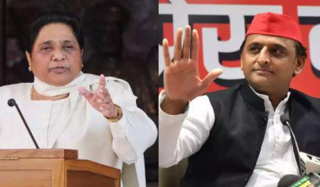उत्तर प्रदेश- बसपा प्रमुख मायावती ने समाजवादी पार्टी के अध्यक्ष पर लगाया बड़ा आरोप लगाया