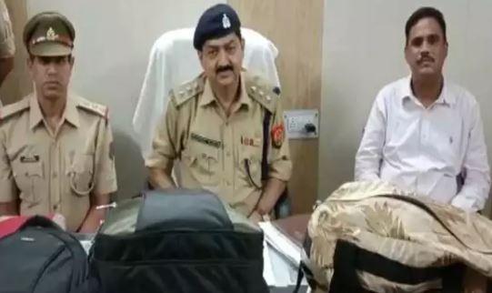 कानपुर सेन्ट्रल पर पकड़ा गया डेढ़ करोड़ का सोना-प्लेटफार्म नंबर 1 से पकड़े गये संदिग्ध