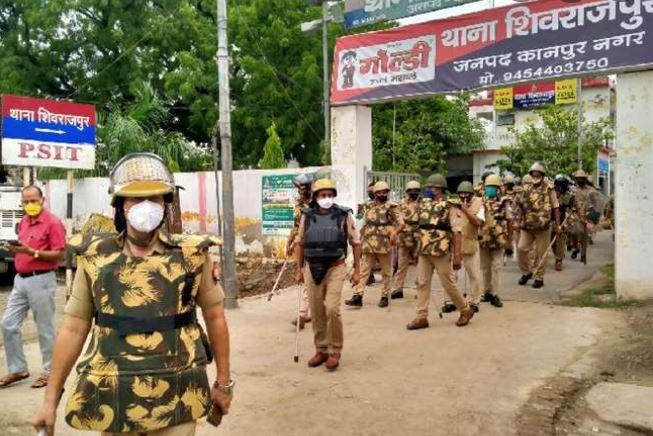 कानपुर-सब्जी विक्रेता की मौत पर बवाल -फोर्स तैनात