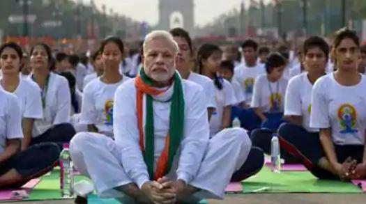 पीएम मोदी ने योग दिवस पर देश के प्रसिद्ध कलाकारों के योगदान से तैयार किये गये वीडियो को ट्वीट किया
