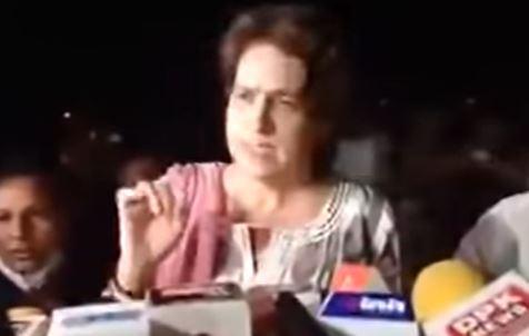 पीड़ित सफाईकर्मी के परिवार से मिलने के बाद क्या बोली प्रियंका गांधी-देखिये वीडियो
