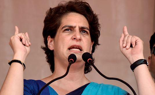 महिलाओं की सुरक्षा को लेकर प्रियंका गांधी योगी सरकार पर बरसी