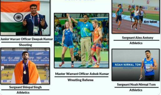 इंडियन एयरफोर्स के ये 5 जाबांज करेंगे ओलम्पिक्स में भारत का नाम रोशन