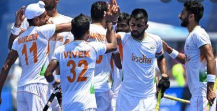 ओलंपिक मे भारतीय हॉकी टीम का जोरदार प्रदर्शन न्यूजीलैंड को 3-2 से हराया