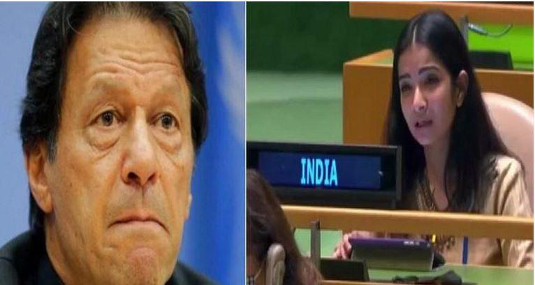 भारतीय नारी सब पे भारी- संयुक्त राष्ट्र महासभा में इमरान खान की बोलती की बंद-स्नेहा दुबे है नाम