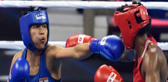 भारतीय बॉक्सर लवलीना ने रचा इतिहास सेमीफाईनल में विश्वचैंपियन से होगा मुकाबला-खेल मंत्री ने दी शाबाशी