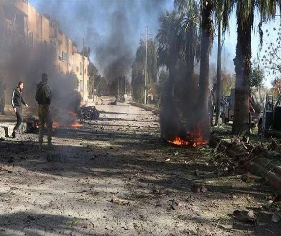 विस्फोट में कम से कम 100 लोगों की मौत हो गई