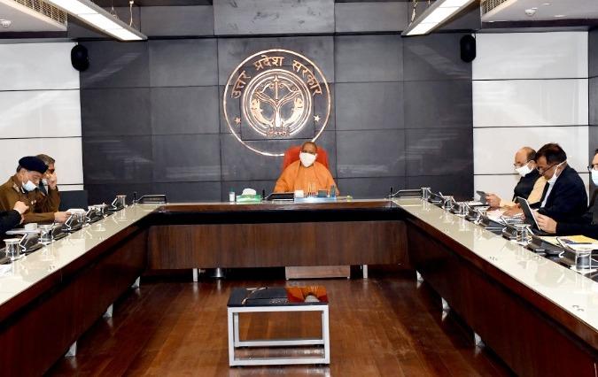 लखनऊ-कोरोना को लेकर सीएम योगी ने की समीक्षा बैठक