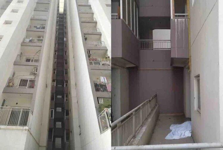 कानपुर-एमराल्ड गार्डन अपार्टमेंट की 19वीं मंजिल से कूदा ड्राइवर, मालिक ने निकाला था नौकरी से
