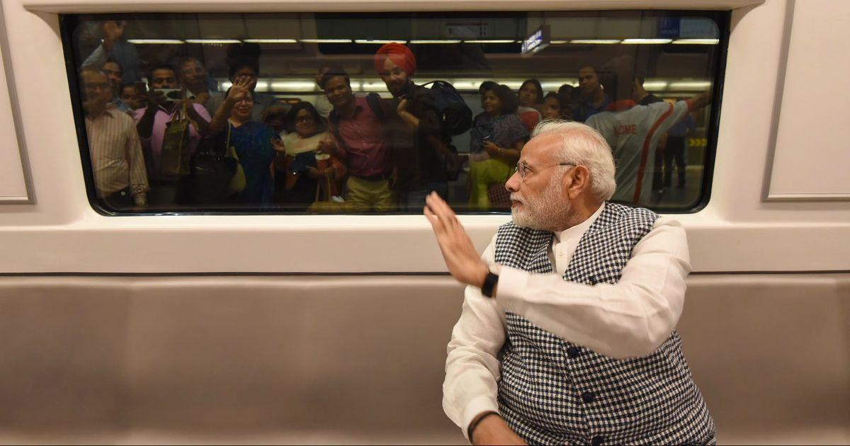 दिल्ली को ड्राइवरलेस मेट्रो की सौगात, PM मोदी ने दिखाई हरी झंडी