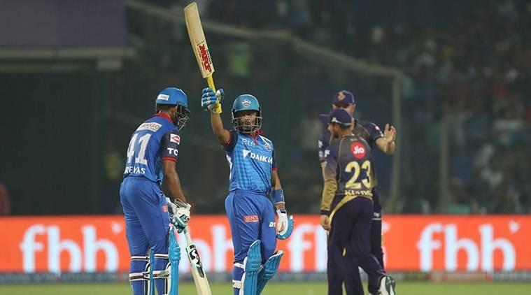 कोलकाता नाइट राइडर्स और दिल्ली कैपिटल्स के बीच खेला जाएगा मुकाबला