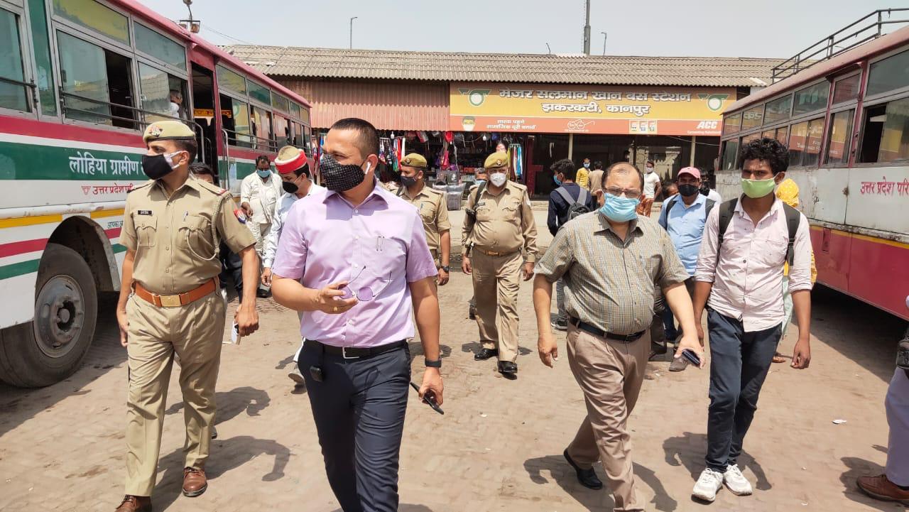 कमिश्नर राज शेखर ने आज झारकट्टी बस स्टेशन का किया औचक निरीक्षण पायी खामियां
