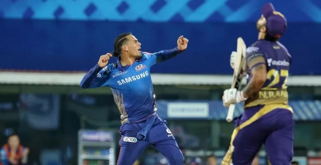 मुंबई इंडियंस ने केकेआर को 10 रनों से हाराया