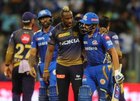 कोलकाता नाइट राइडर्स और मुंबई इंडियंस के बीच आज खेला जाएगा मुकाबला
