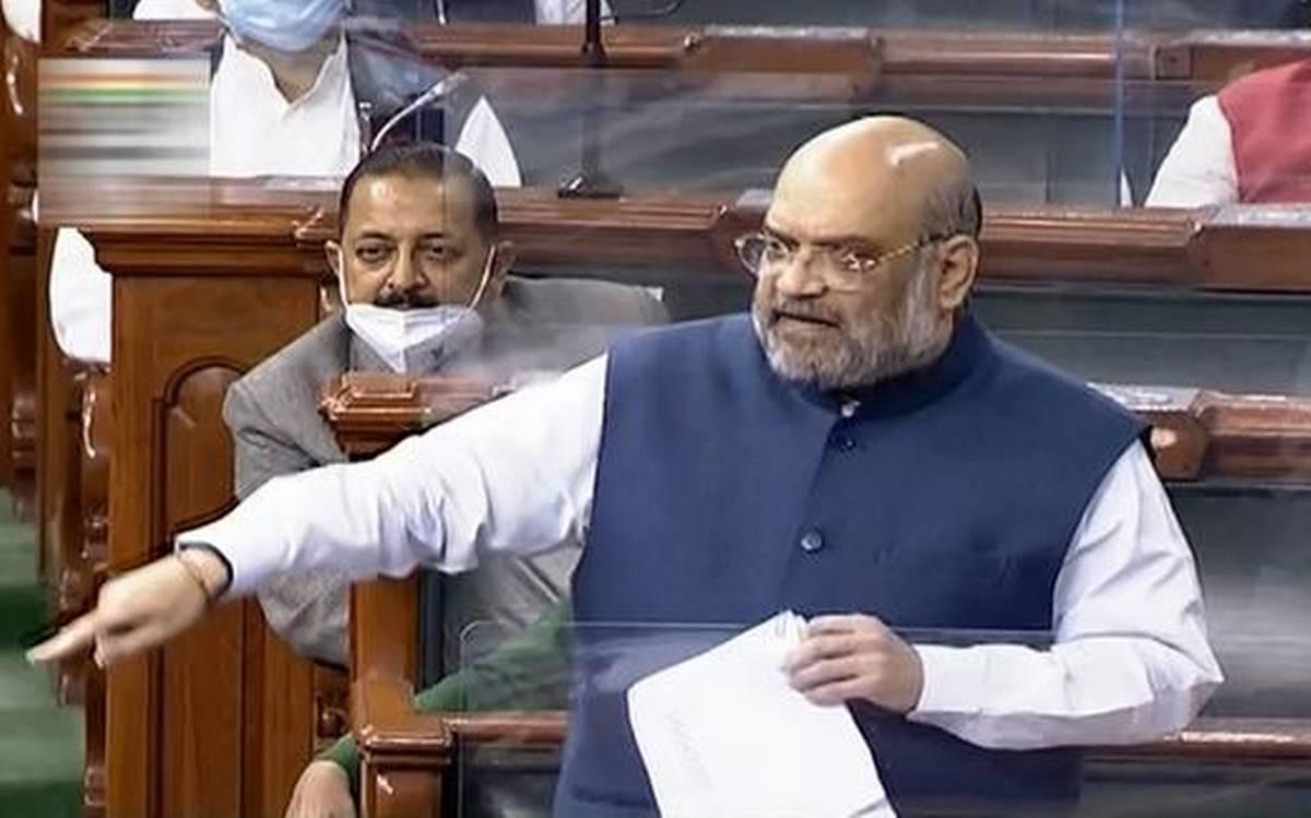 गृहमंत्री अमित शाह ने गिनाए 370 हटाने के फायदे, विपक्षियों पर साधा निशाना