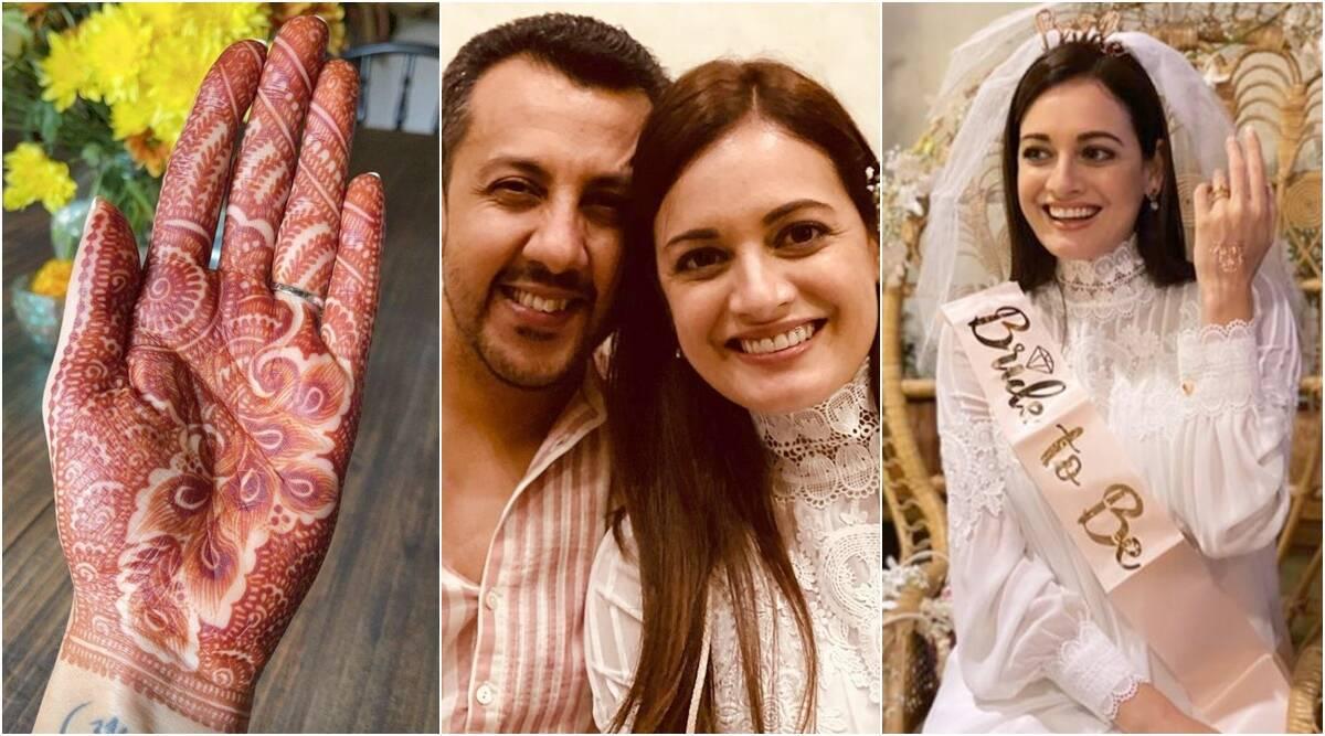 तलाक के बाद फिर शादी रचा रही हैं दीया मिर्जा, लगाई वैभव रेखी के नाम की मेंहदी, सामने आई तस्वीर