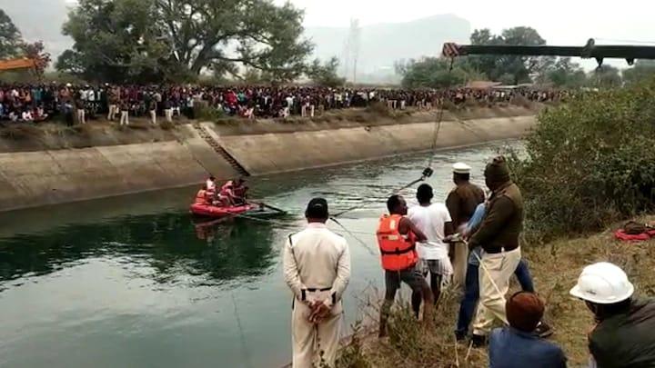 देंखे वीडियो: मध्य प्रदेश के सीधी में बड़ा हादसा, नहर में गिरी बस, 42 यात्रियों के शव बरामद