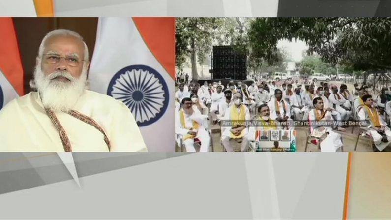 विश्व भारती का दीक्षांत समारोह LIVE:पीएम मोदी बोले-आतंक फैलाने वालों में शिक्षित लोग भी शामिल