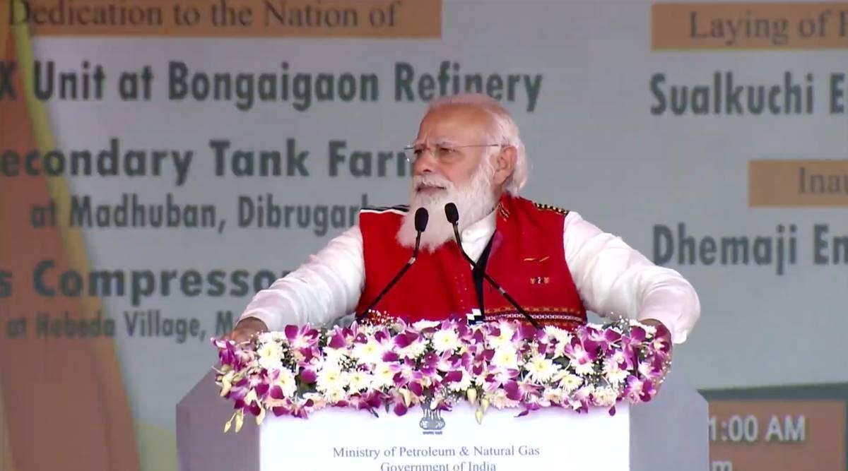 असम में बोले पीएम मोदी- नीति सही हो, नीयत साफ हो तो नियति भी बदलती है
