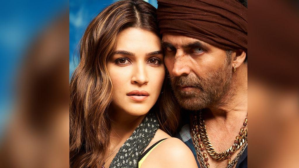'बच्चन पांडे' से कृति सेनन का लुक आउट,जानें कब रिलीज होगी फिल्म