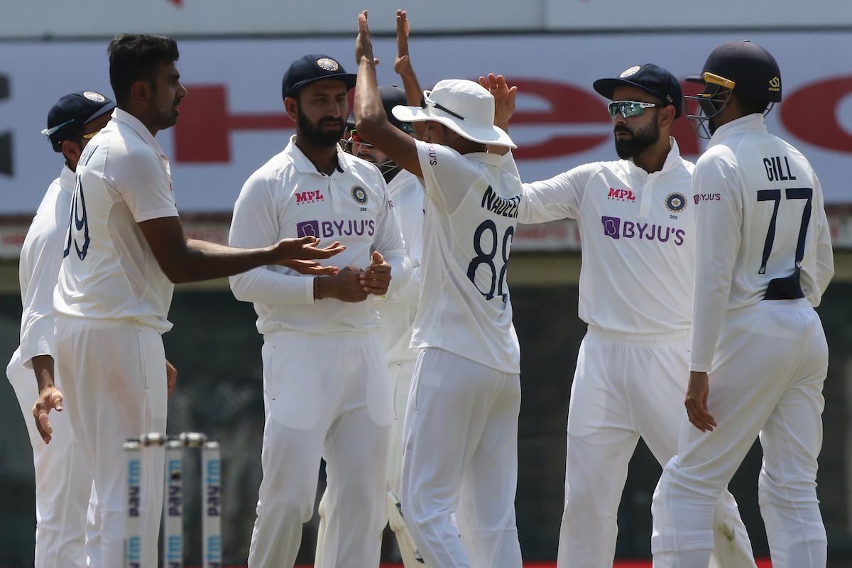 भारत बनाम इंग्लैंड: चौथे दिन का खेल खत्म, भारत का स्कोर 39/1, जीत से अभी 381 रन दूर