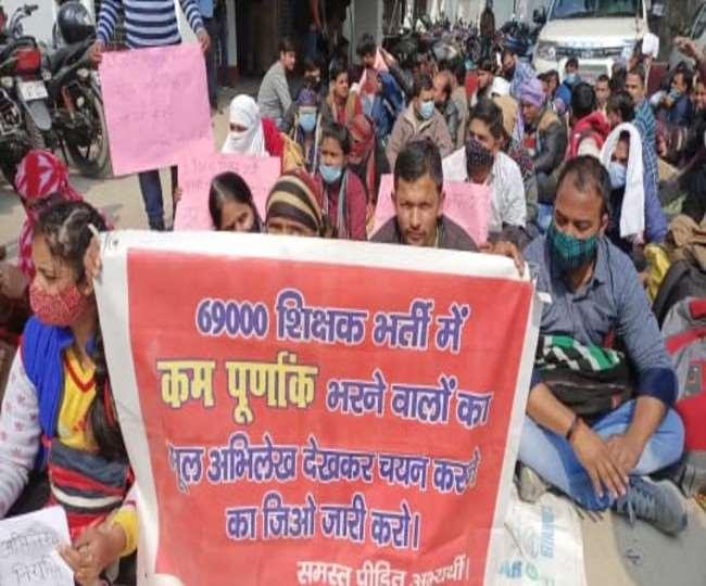 नहीं थम रहा 69000 शिक्षक भर्ती पर घमासान
