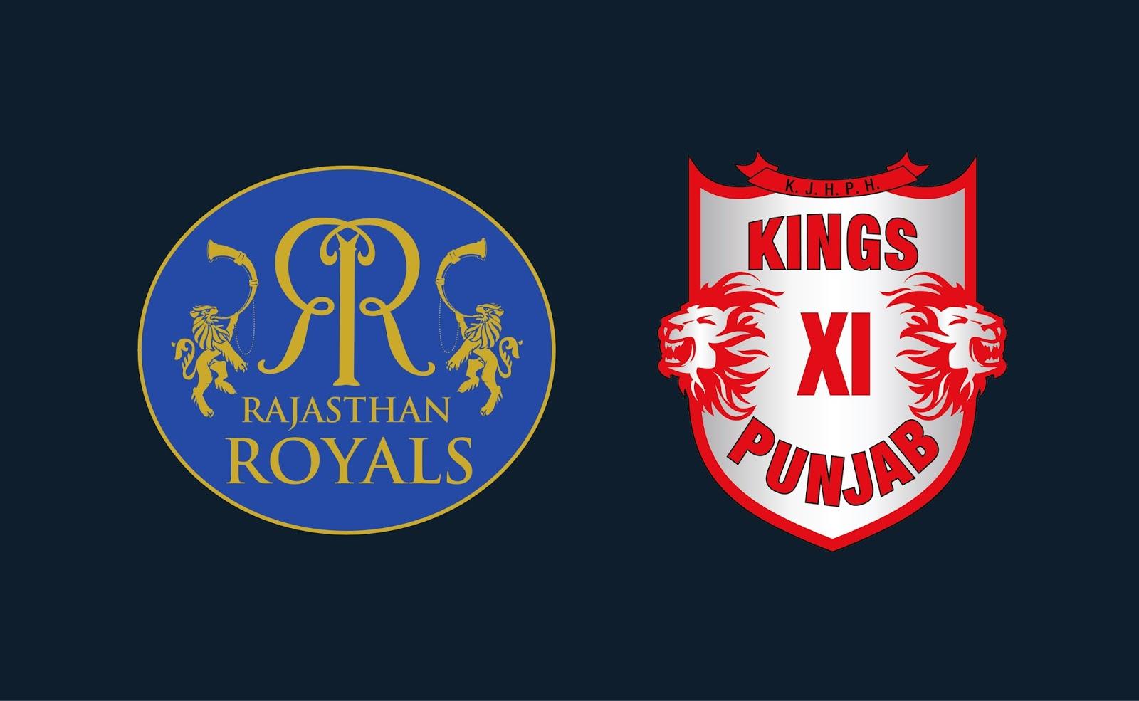 राजस्थान रॉयल्स और पंजाब किंग्स इलेवन के बीच आज होगी टक्कर, जानें प्लेइंग इलेवन
