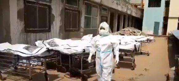 (वीडियो) कोरोना का कहर: रायपुर के अस्पताल की तस्वीरें देखकर कांप जाएगी रूह