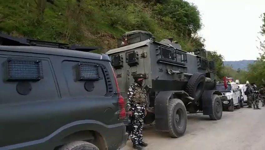 जम्मू कश्मीर के कुलगाम में जैश-ए-मोहम्मद के दो आतंकी गिरफ्तार
