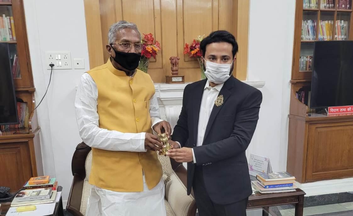 डॉ.चंदन अग्रवाल नियुक्त किए गए बिहार राज्यपाल के शिक्षा सलाहकार