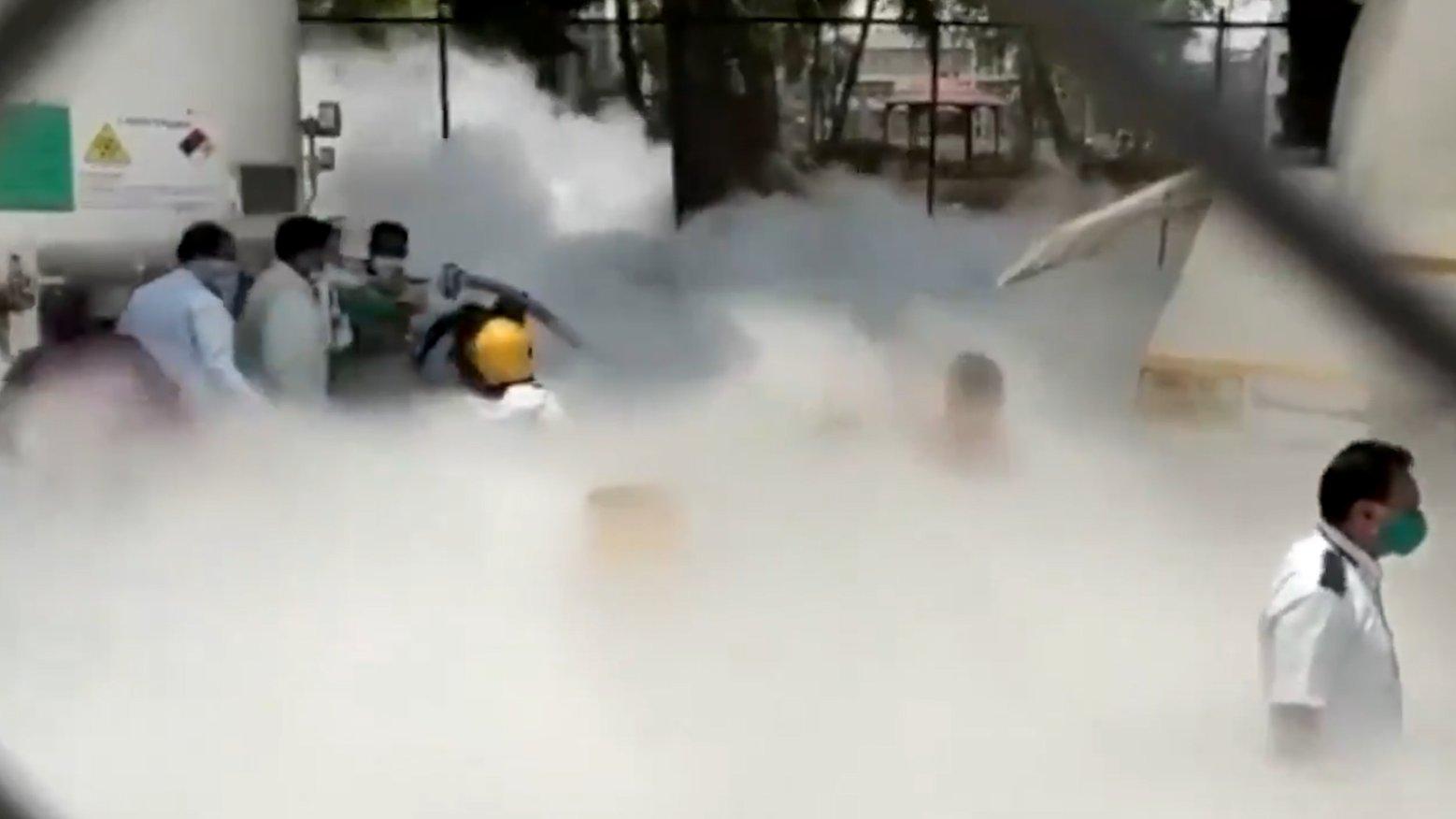 महाराष्ट्र के नासिक में बड़ा हादसा, अस्पताल में ऑक्सीजन टैंक लीक होने से 22 लोगों की मौत